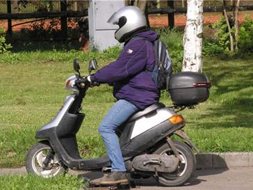 Скутером нельзя будет управлять без удостоверения