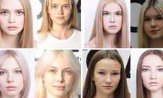 Большая разница: модели до и после макияжа