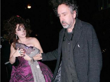 Хелена Бонем Картер (Helena Bohnam Carter) и Тим Бертон (Tim Burton) счаствливы в браке