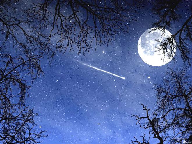 звездопад, метеоритный дождь в пензе, суперлуние