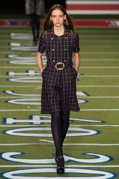 Показ Tommy Hilfiger на Неделе моды в Нью-Йорке | галерея [2] фото [7]