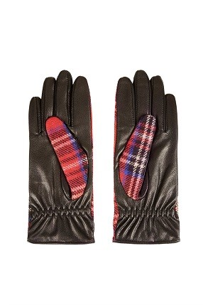 Перчатки с отделкой