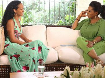 Рианна (Rihanna) и Опра Уинфри (Oprah Winfrey)