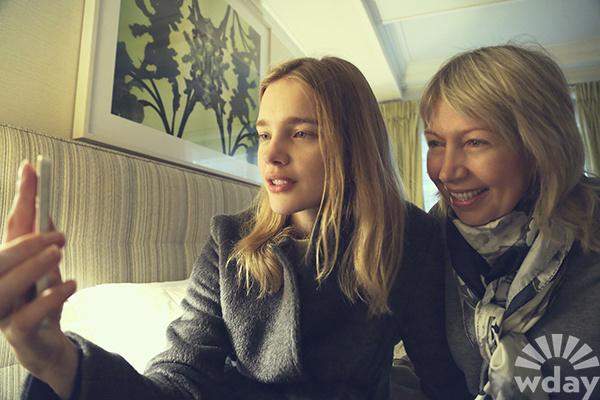 Наталья Водянова с мамой