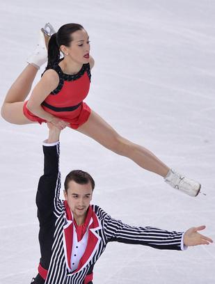 Ксения Столбова, Федор Климов, фигурное катание, Олимпиада в Сочи 2014