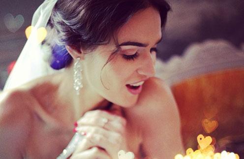 Алена Водонаева показала свадебное фото