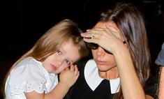 Виктория Бекхэм показала подросшую дочь