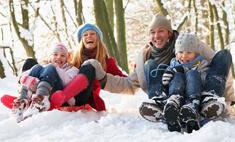 Зимняя прогулка с ребенком: как не заскучать обоим?