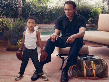 Рекламная кампания Louis Vuitton Core Values: «Некоторые звезды показывают вам путь. Мухаммед Али и восходящая звезда, Феникс, Аризона»