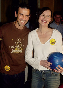 Джина Дэвис (51 год) и Рез Джаррахи (36 лет) - разница 15 лет