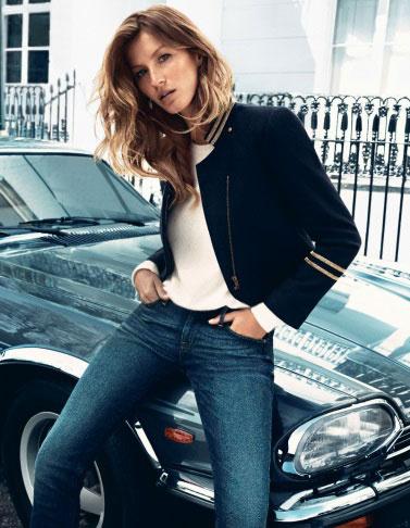 Жизель Бундхен в кампании H&M