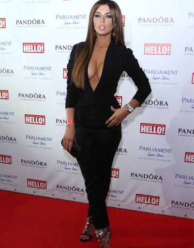 Анна Седокова приняла участие в мероприятии, посвященном самым стильным людям России, премии раздавались по версии...