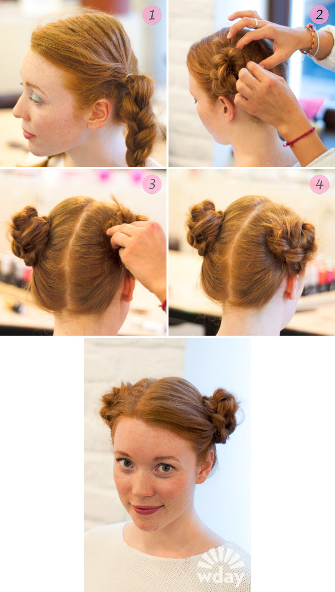 Как сделать прическу для детей с длинными волосами