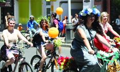 «Леди на велосипеде»: лучшие моменты в фотоотчете