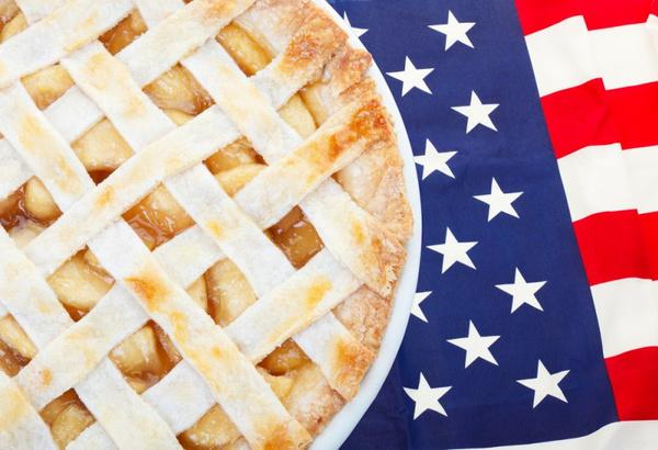 Американский яблочный пирог: рецепт. Видео