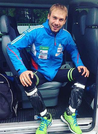 Антон Шипулин, биатлонист, олимпийский чемпион, фото