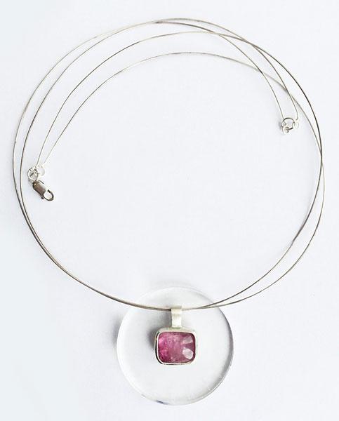 Ожерелье Verba, серебро и турмалин, 9800 р. (Click-Boutique)