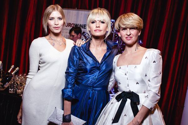 Елена Перминова, Яна Расковалова и Полина Киценко