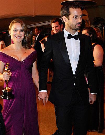 Натали Портман (Natalie Portman) и Бенджамин Милпье (Benjamin Millepied)