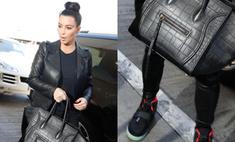 Ким Кардашьян носит кеды от Канье Уэста