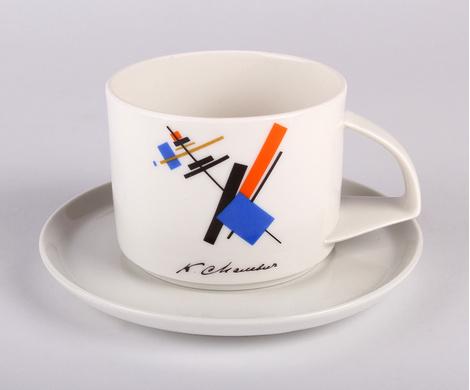 Чашка «Малевич», Императорский фарфоровый завод, магазины «Императорский фарфор».