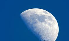 Луна становится меньше
