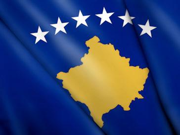 Флаг новой страны - Косово
