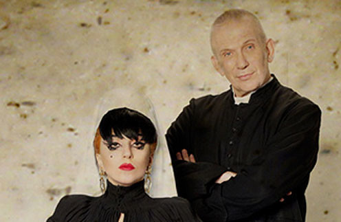 Леди ГаГа (Lady GaGa) и Жан Поль Готье (Jean Paul Gaultier)
