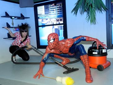 Человек-паук в музее мадам Тюссо