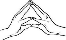 Мудра «Хакини»