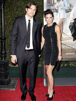 Деми Мур (Demi Moore) и Эштон Катчер (Ashton Kutcher)