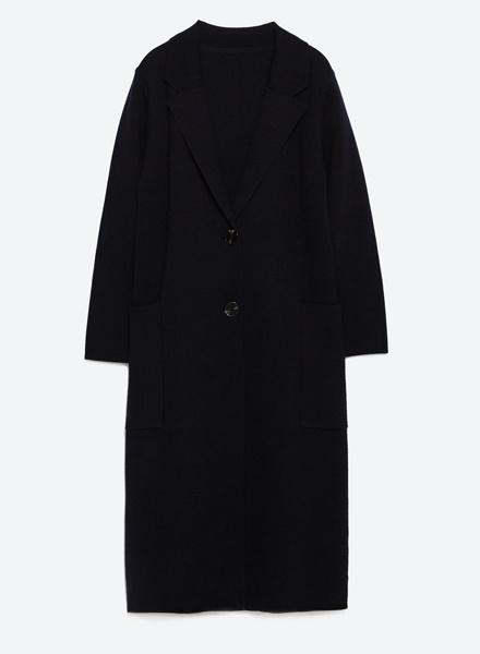Трикотажное пальто Zara, 8999 р.