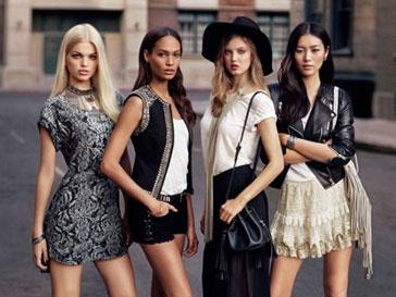 H&M посвятил новую коллекцию моделя и назвал ее The New Icons