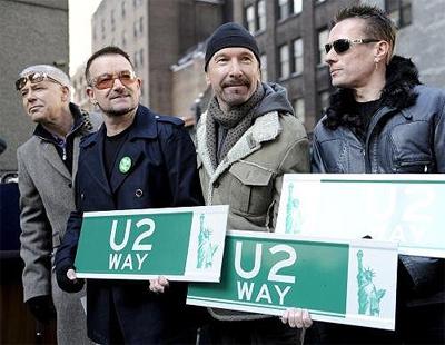 U2 образовалась в 76-м году из школьной группы Feedback.