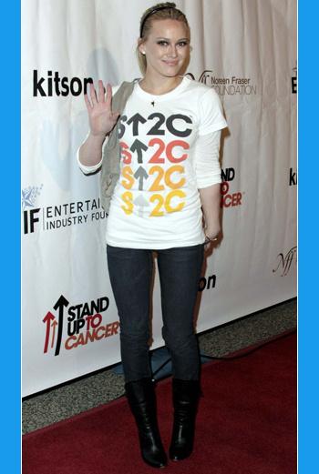 Еще недавно Хилари Дафф была звездой детского телеканала Disney