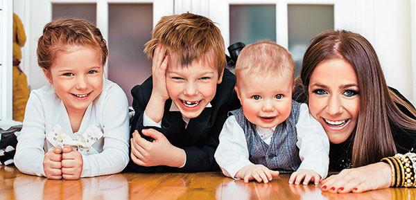 Юлия Барановская, дети