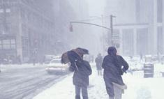 Половина Америки погребена под снегом