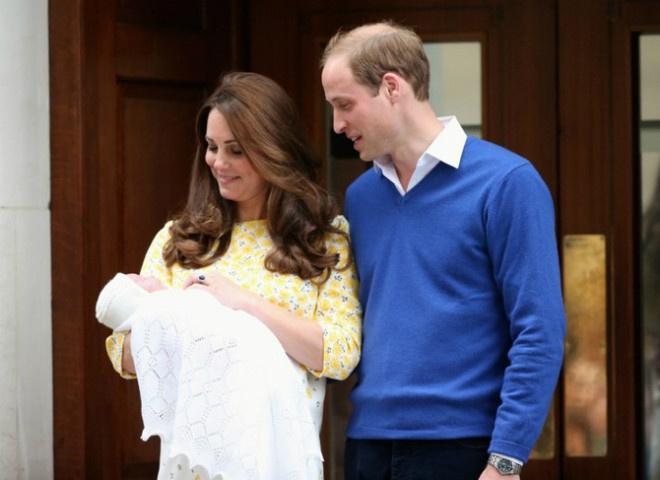 Кейт Миддлтон Шарлотта и принц Уильям