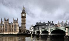 В небе над Лондоном появились пришельцы