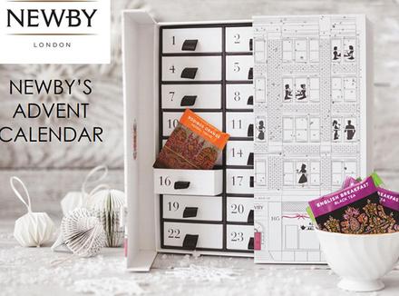 Праздничный адвент-календарь от Newby Teas