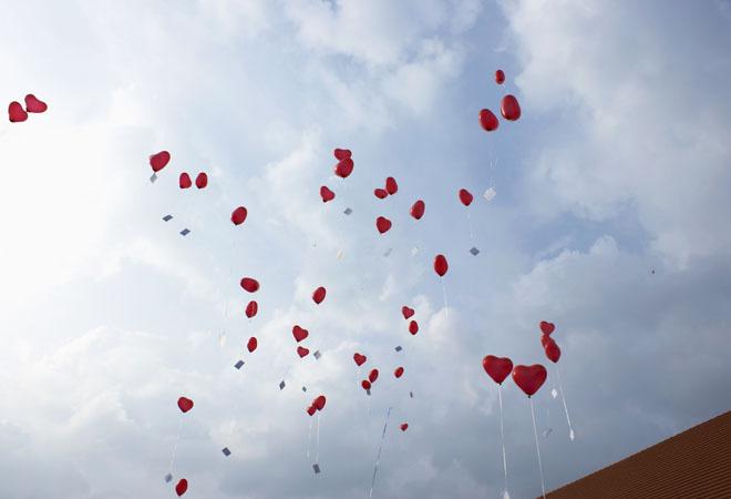 День Влюбленных в парке Кузьминки фото