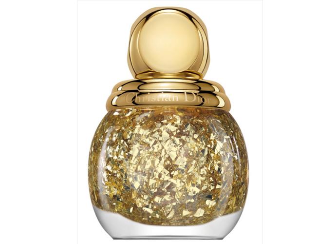 Покрытие для ногтей Dior Diorific в оттенке 001 Golden Shock