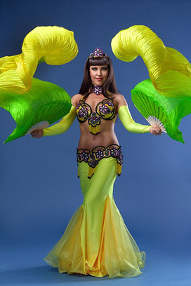 Екатерина Тихомирова самая обворожительная восточная танцовщица Самары