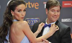 Леди Совершество: Орейро в новом платье очаровала испанского актера
