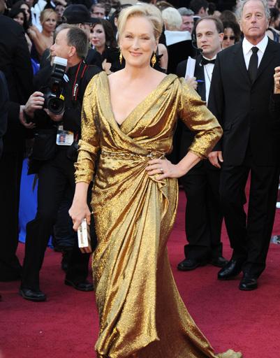 """Мэрил Стрип (Meryl Streep) на """"Оскаре-2012"""""""