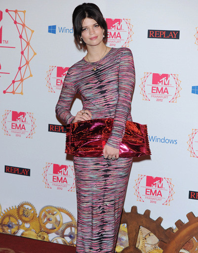Пикси Гелдоф (Pixie Geldof) на MTV EMA 2012