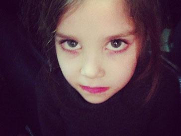 """""""У Улиной дочки глаза-блюдца"""", - написала Ксения Собчак в микро-блоге"""