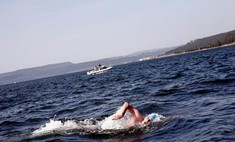 Пенсионерка переплыла пролив Ла-Манш