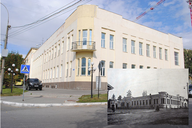 Дом купца Кагана, ныне многопрофильный медицинский центр на ул. Урицкого, 2.