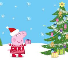 «Свинка Пеппа» дарит подарки к Новому году